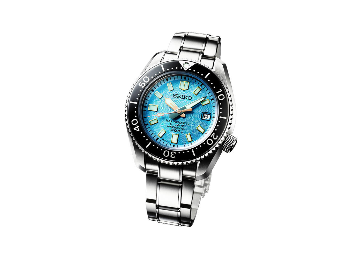 プロスペックス マリーンマスター プロフェッショナル Limited Edition(Seiko Prospex Marinemaster Professional 300m Automatic Limited Edition)Ref.SLA015