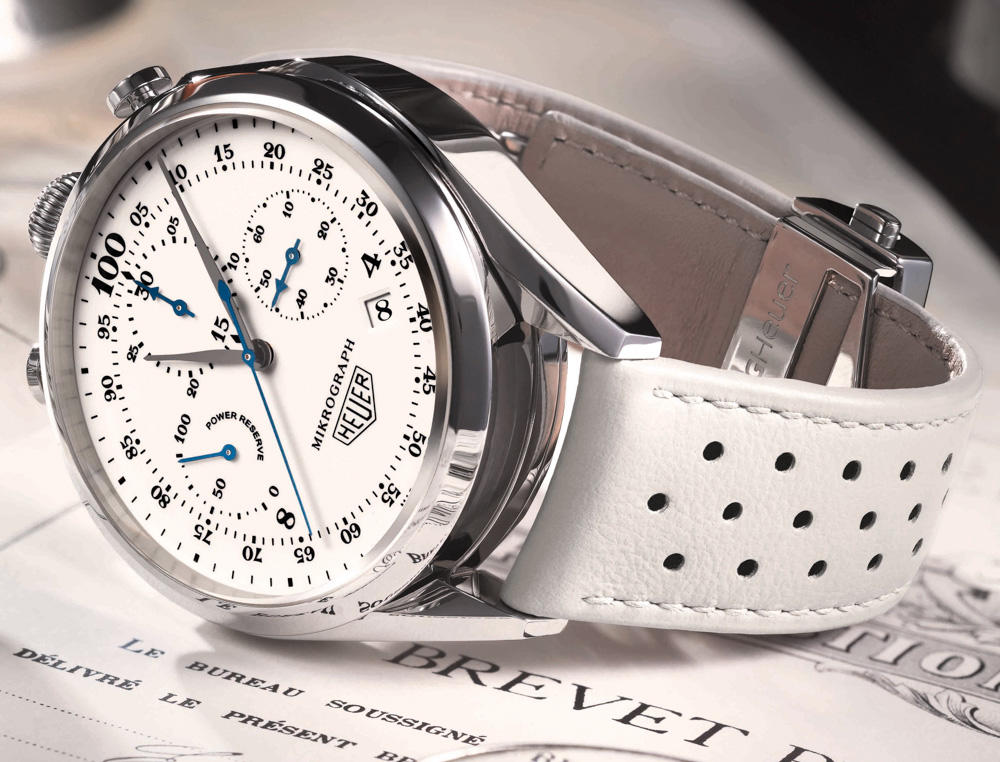 TAG Heuer Mikrograph 100th Anniversary Chronograph